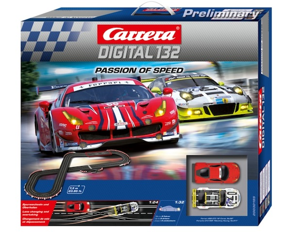 Carrera 30195 Passion of Speed set DIGITAL 132