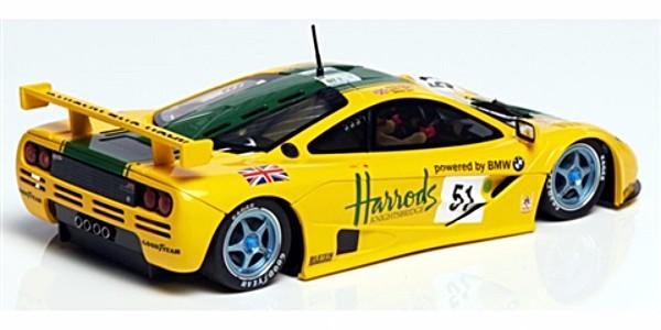MRSLOTCAR MR1048 McLaren F1 GTR Harrods Livery LeMans 1995