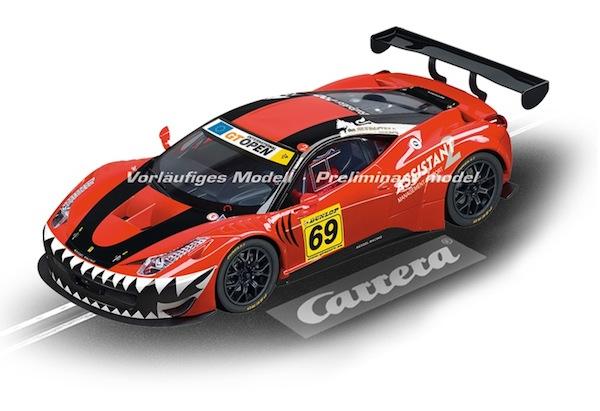 """Carrera 23838 Ferrari 458 Italia GT3 """"Kessel Racing, No.69"""" D124"""