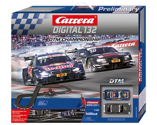 Carrera 30196 DTM Championship set WIRELESS DIGITAL 132