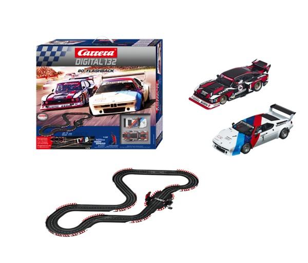 Carrera 30197 '80 Flashback D132 set (Group 5 Capri and M1)