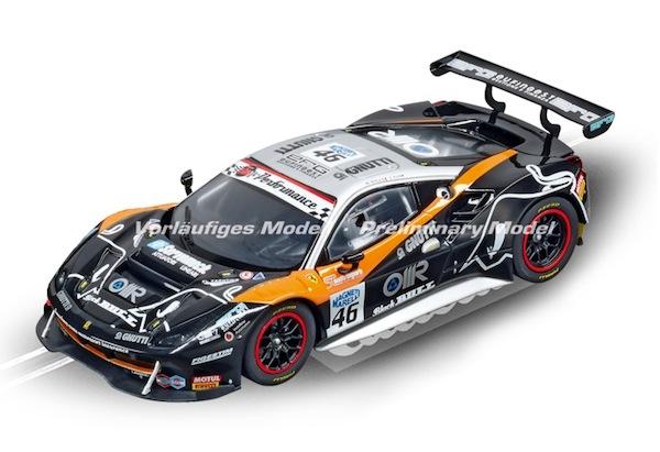 """Carrera 30808 Ferrari 488 GT3 """"Black Bull Racing, No.46"""" D132"""