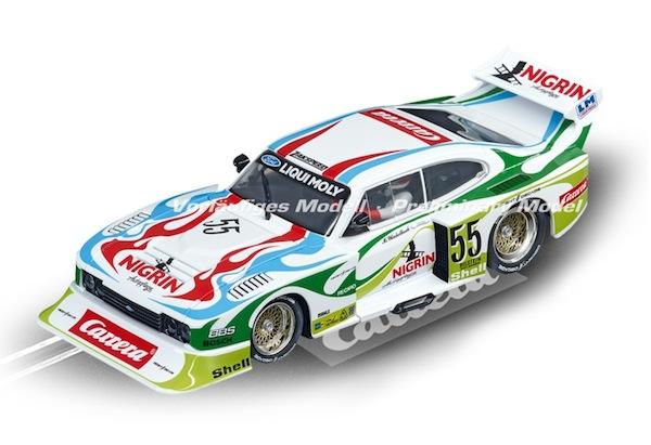 "Carrera 30817 Ford Capri Zakspeed Turbo ""Liqui Moly Equipe, No.55"" D132"