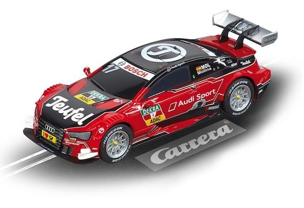 """Carrera 41397 Teufel Audi RS 5 DTM """"M.Molina, No.17"""" Digital 143"""