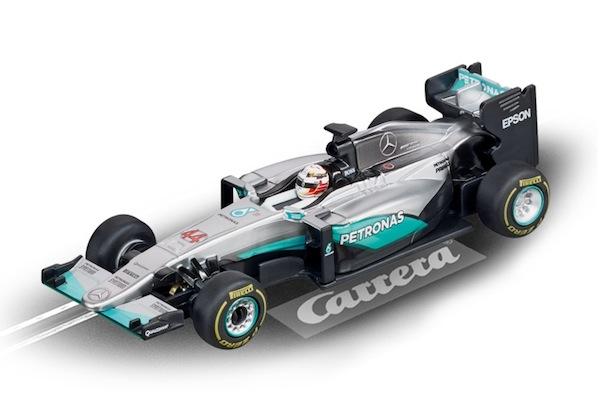 "Carrera 64088 Mercedes F1 W07 Hybrid ""L.Hamilton, No.44"""