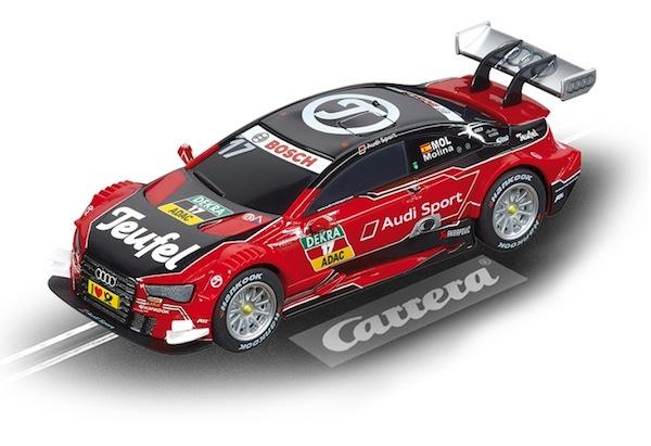 """Carrera 64090 Teufel Audi RS 5 DTM """"M.Molina, No.17"""""""
