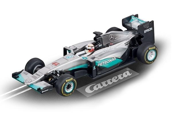 "Carrera 64096 Mercedes F1 W07 Hybrid ""N.Rosberg, No.6"""