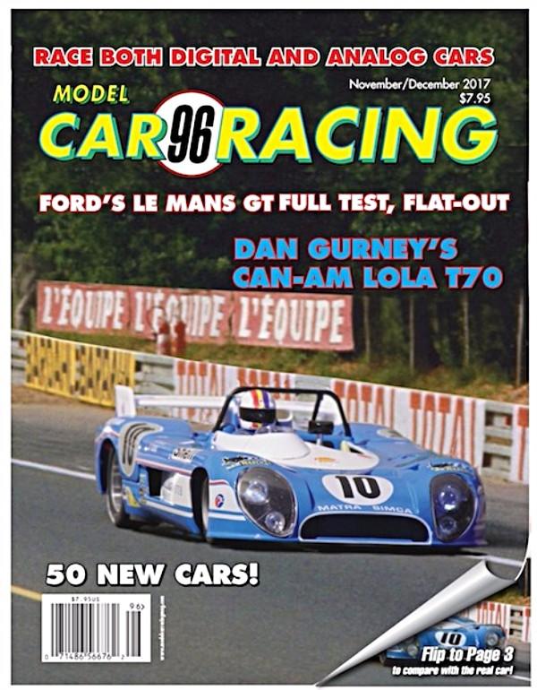 MCR96 Model Car Racing magazine November/December 2017—PRE-ORDER NOW!
