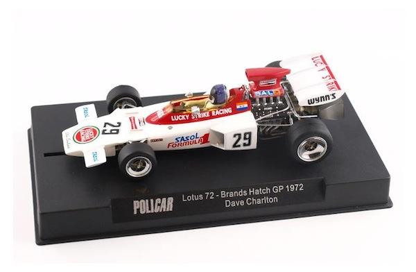 PCCAR02E Lotus 72 Lucky Strike 1972 Brands Hatch, driver Dave Charlton—PRE-ORDER NOW!