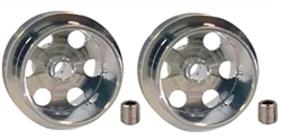 """Professor Motor PMTR8016 1/32 """"GT"""" Wheels for 3/32″ axle 16.9 x 10mm"""