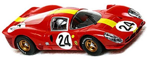 Scalextric C2642 Ferrari 330P4 Le Mans 1967, 3rd place (C)