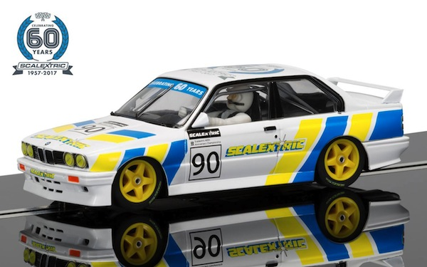 Scalextric C3829A 60th Anniversary Collection no.4-1990s, BMW E30 M3 Limited Ed.