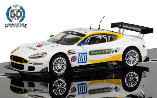 Scalextric C3830A 60th Anniversary Collection car No. 2,2000s, Aston Martin DBR9 Ltd. Ed. (C)