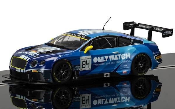 Scalextric C3846 Bentley Continental GT3, Team HTP Blue