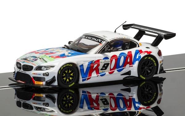 Scalextric C3855 BMW Z4 GT3 ROAL Motorsport Spa 2015, Alex Zanardi