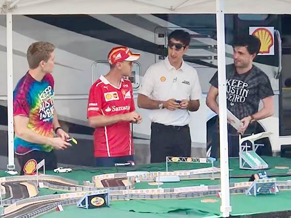 Slot Car Racing On The U.S. GP Weekend In Austin