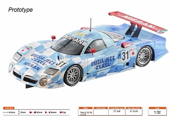 Slot.it SICA14E Nissan R390 GT1 LT #31 LeMans 1998