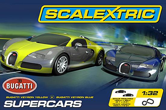 Scalextric C1297T Supercars race set (C)