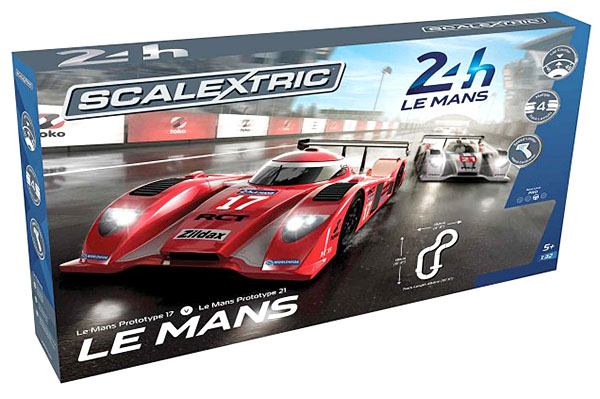 Scalextric C1368T Le Mans Sports Cars Set