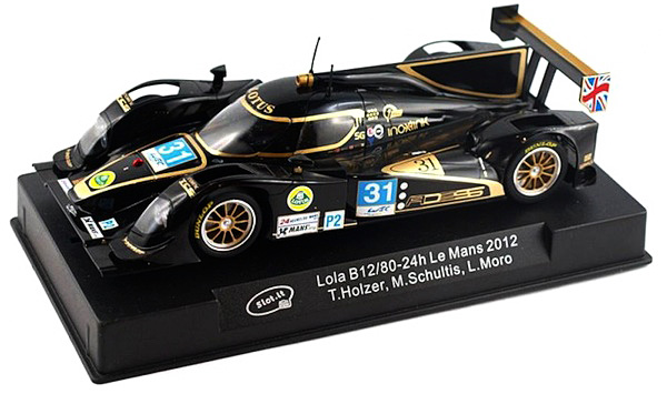 Slot It SICA39a Lola B12/80 – #31 – 24h Le Mans 2012