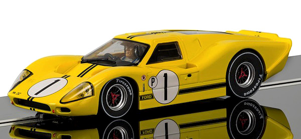 Scalextric C3859 Ford GT40 Mk4, 1967 Sebring Winner