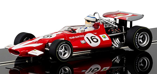 Scalextric C3834A McLaren M7C John Surtees, 1970 Dutch – Limited Edition