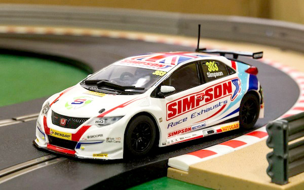 Scalextric C3915 Honda Civic Type R NGTC – BTCC 2017 Matt Simpson—PRE-ORDER NOW!