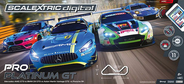 Scalextric C1374 ARC Pro Platinum Digital Set