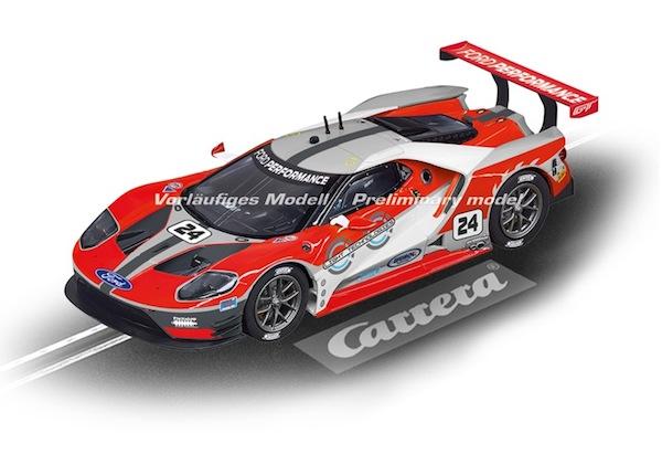 """Carrera 23841 Ford GT Race Car """"No. 24"""" D124"""