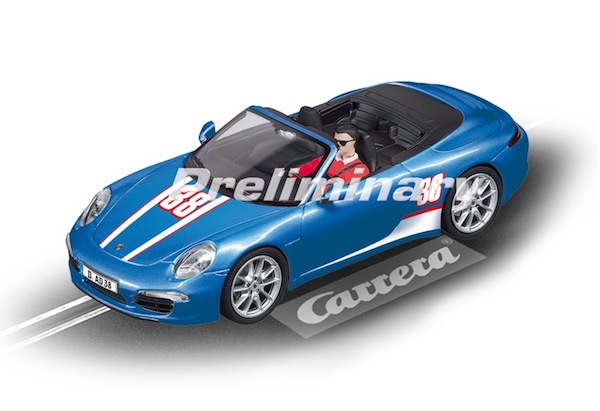 "Carrera 30789 Porsche 911 Carrera S Cabriolet ""Cam Shaft"" D132"