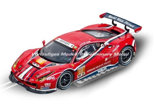 """Carrera 30809 Ferrari 488 GT3 """"AF Corse, No.68"""" D132"""