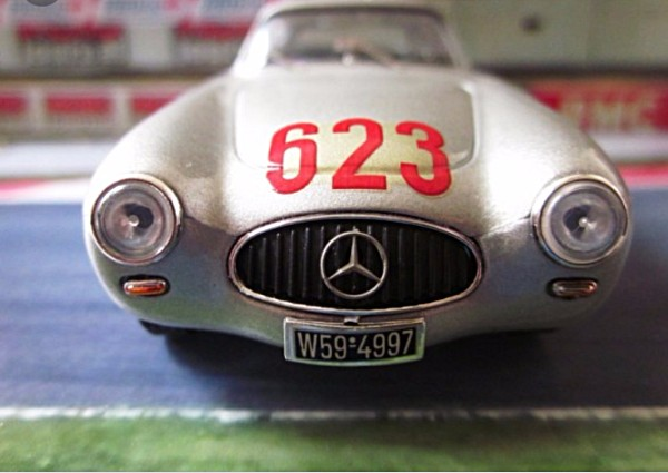 MMK78E Mercedes-Benz 300SL No. 623, Mille Miglia 1952, Second Overall—PRE-ORDER NOW!