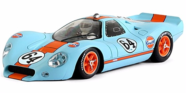 "NSR NSR0016SW Ford P68 #64 'Gulf' ""Tribute Livery"""