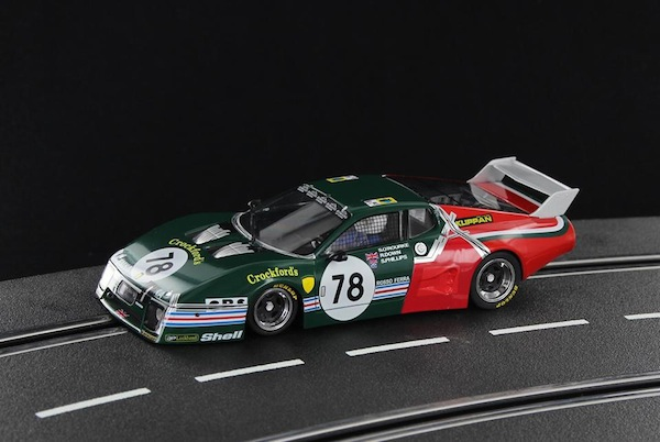 Racer SW51B Ferrari 512BB/LM Le Mans 1980 'EMKA', repaired after pit stop, Limited Edition