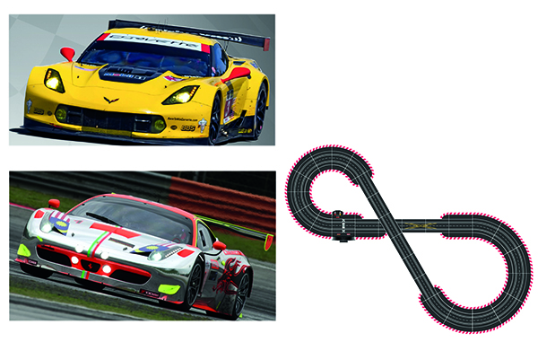 Carrera 23617 D124 Racing Passion Set
