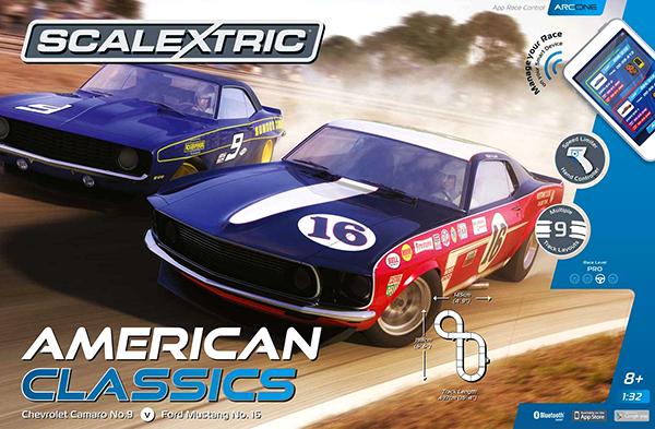 Scalextric C1362T American Classics Set