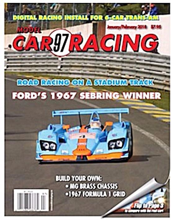 MCR97 Model Car Racing Magazine January/February 2018