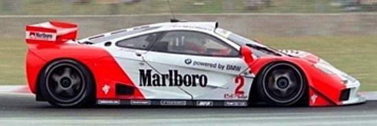MRSLOTCAR MR1042 McLaren F1 GTR Marlboro Livery