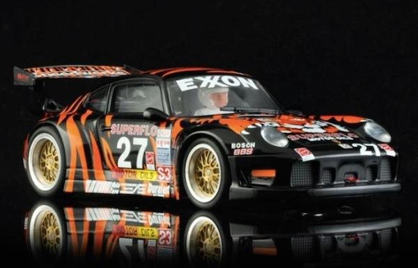 Revo Slot RS0003 Porsche 911 GT2 Tiger Superflo #27 Tim Vargo 12 Hours Of Sebring 1997