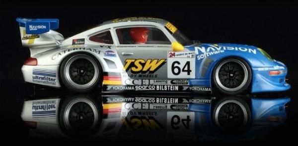 Revo Slot RS0005 Porsche 911 GT2 TSW # 64 Team Roock Racing LeMans 1998