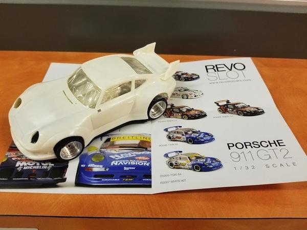 Revo Slot RS0007 Porsche 911 GT2 White Kit