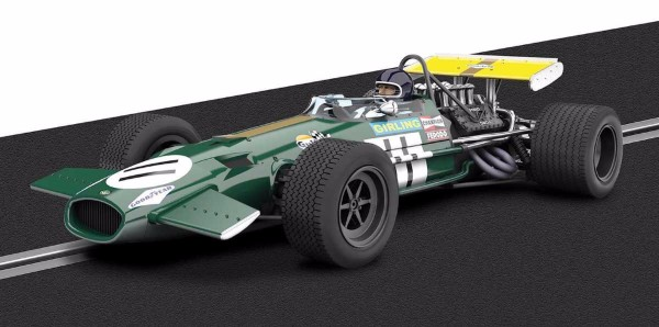 Scalextric C3588A Legends-Brabham BT26A-Limited Edition
