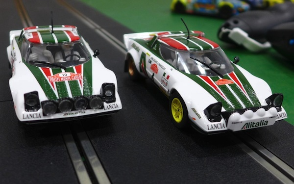 Scalextric C3894A Lancia Stratos 1976 Rally Champions Twinpack