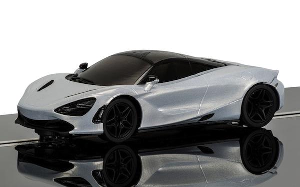 Scalextric C3982 McLaren 720S Glacier White