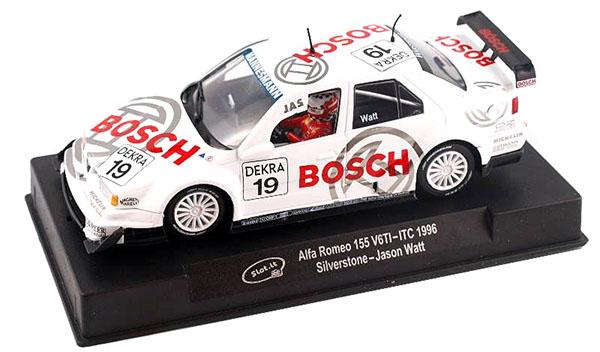 Slot It SICA45a Alfa Romeo 155 Ti – #19 – Silverstone – ITC 1996 Classic DTM