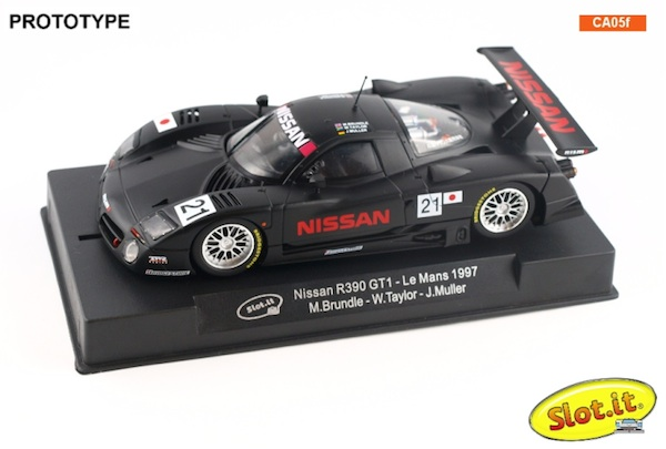 Slot It SICA05F Nissan R390 GTNissan R390 GT1, No. 21 Le Mans Test Day 1991