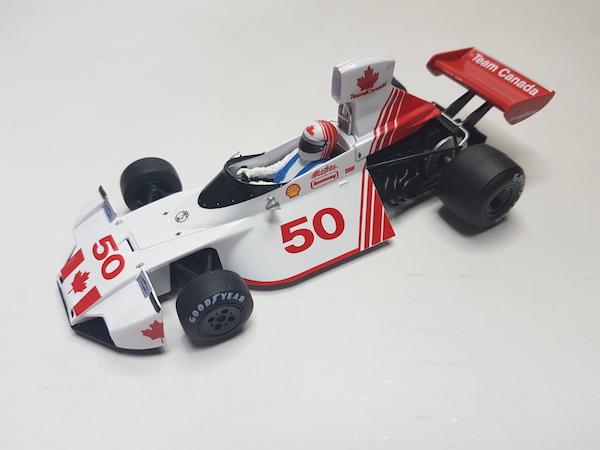 Flyslot (Slotwings) 062105 Brabham BT44 Canadian GP 1974, driver Eppie Wietzes