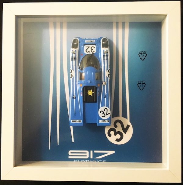 Fly (Slotwings) FW005-02 FRAMED Porsche 917K Watkins Glen 1970 #32