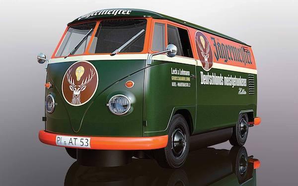 Scalextric C3938 Volkswagen Panel Van T1B 'Jagermeister' Green
