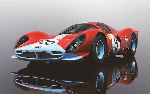 Scalextric C3946 Ferrari 412P Brands Hatch 1967